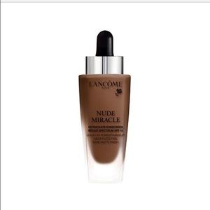 NWT LANCÔME NUDE MIRACLE FOUNDATION - 500 Suede